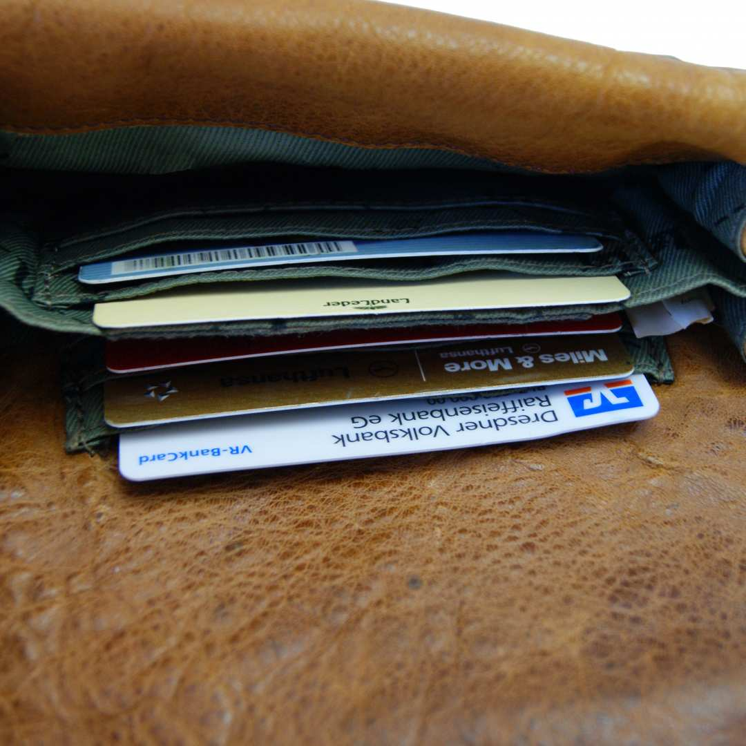 Money Purse Fugger Of Leather Baron